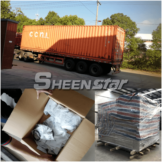 Mineral water filling machine packaging and shipping