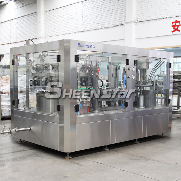 Automatic Carbonated Drink Beer Can Filling Machine